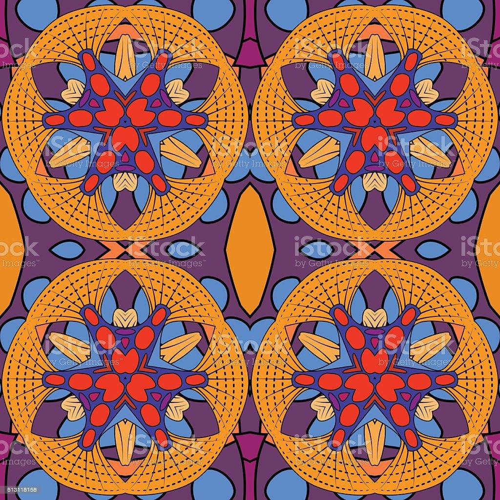 Abstract seamless background. vector art illustration