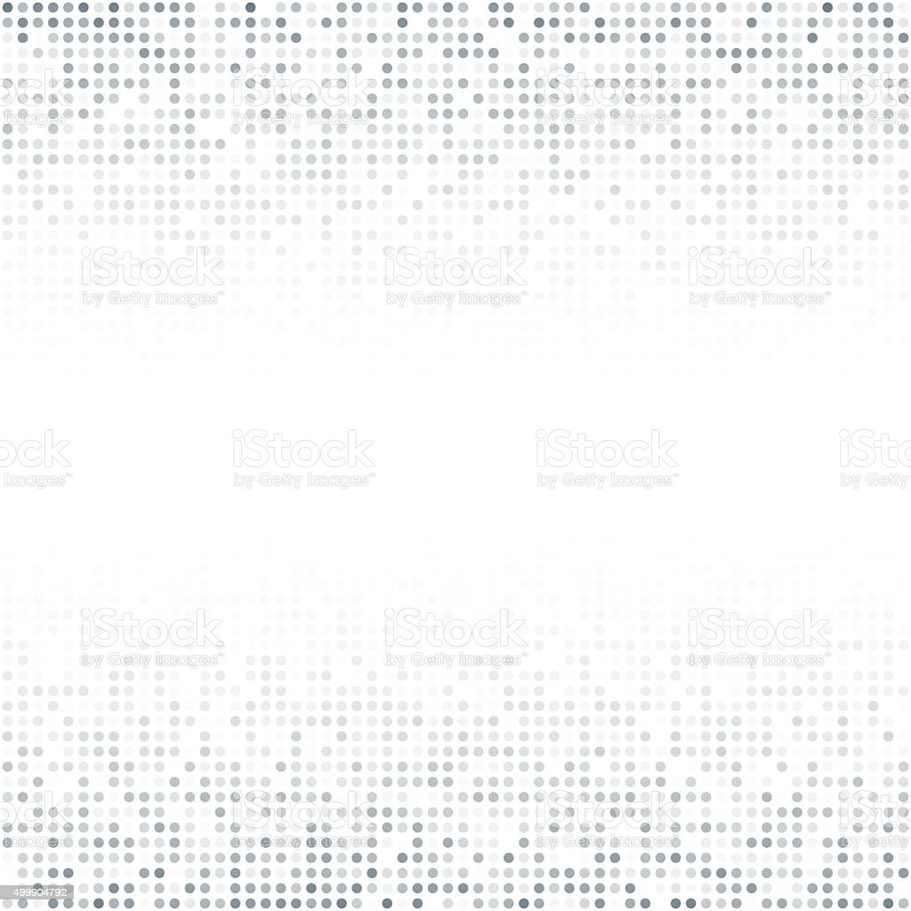 Abstract seamless dot background pattern vector art illustration