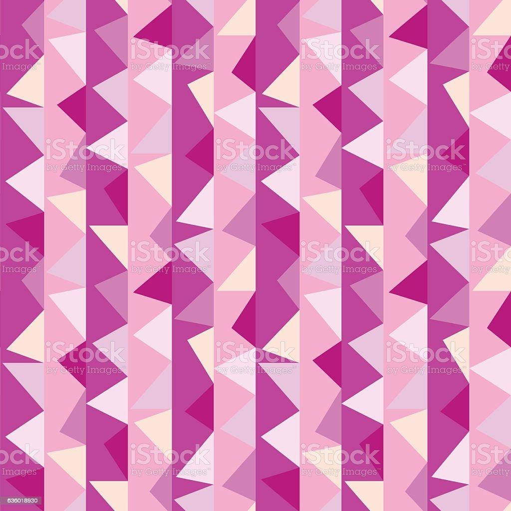 Abstract seamless geometric pattern with triangle. vector art illustration