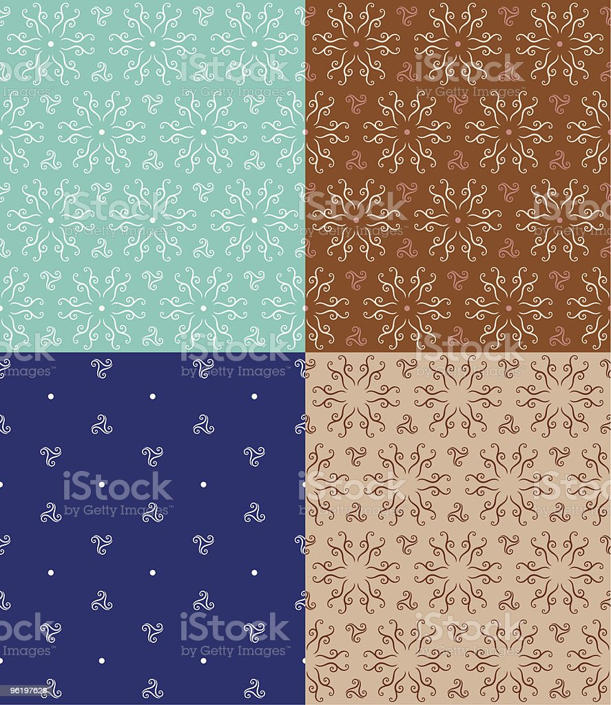 Abstract Seamless Pattern • Original Design royalty-free stock vector art