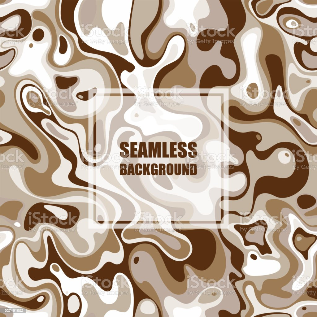 Abstract seamless pattern. Vector Illustration with spot elements. vector art illustration