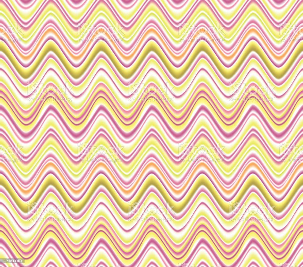 Abstract seamless wave pattern vector art illustration