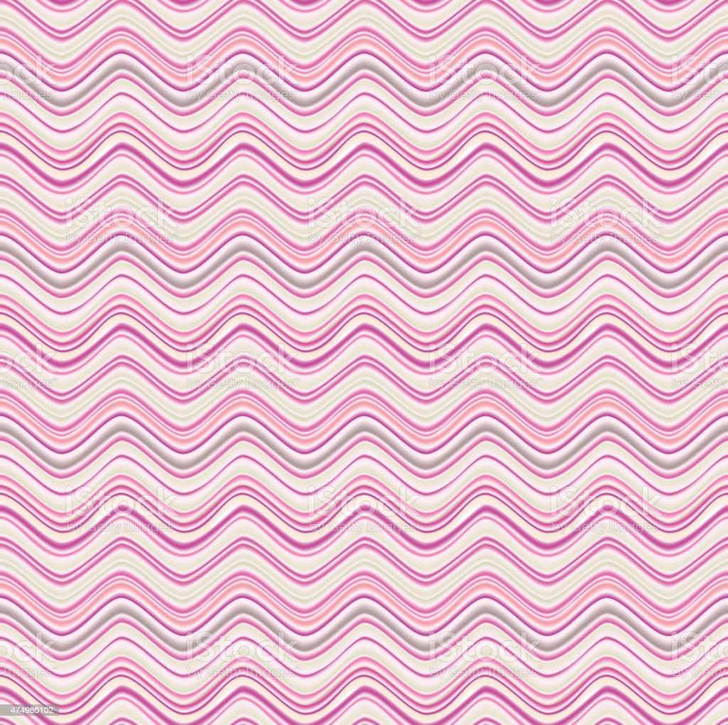 Abstract seamless wave texture vector art illustration