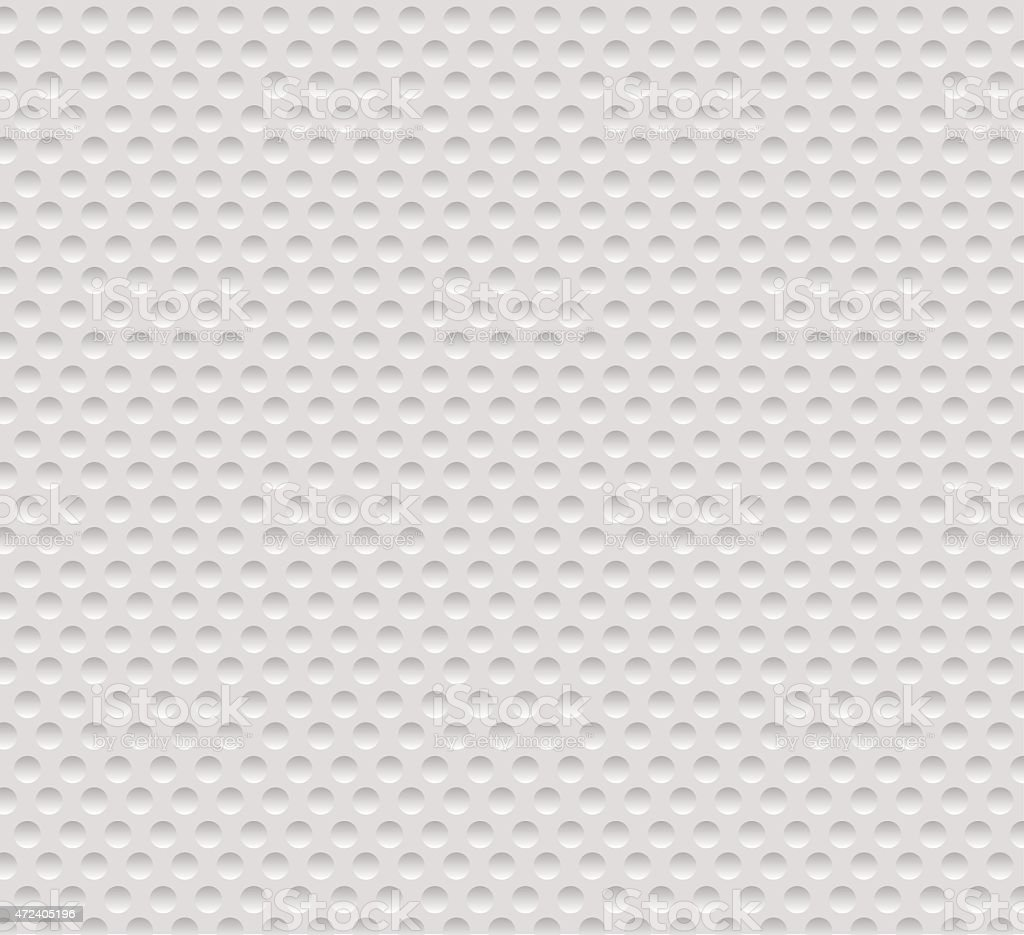Abstract seamless white background with circles, eps10. vector art illustration