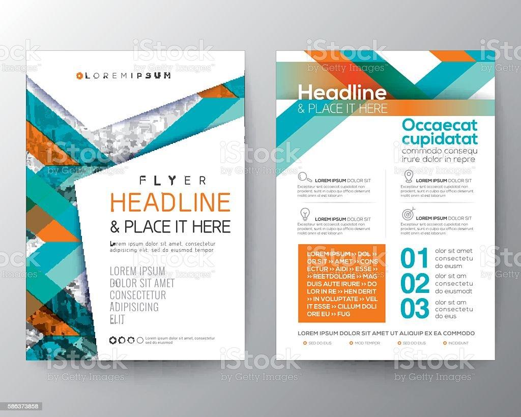 Abstract shape background for Poster Brochure Flyer design Layout vector art illustration
