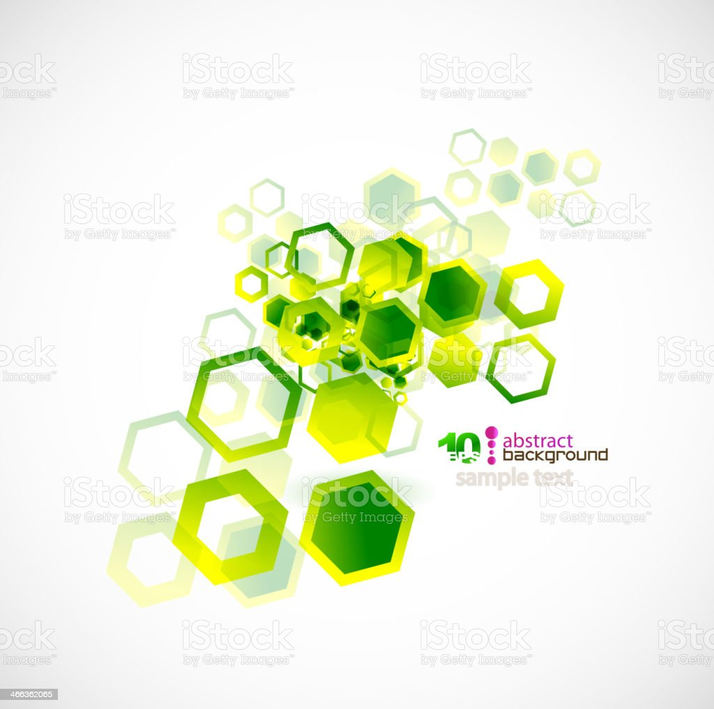 Abstract shapes vector background vector art illustration