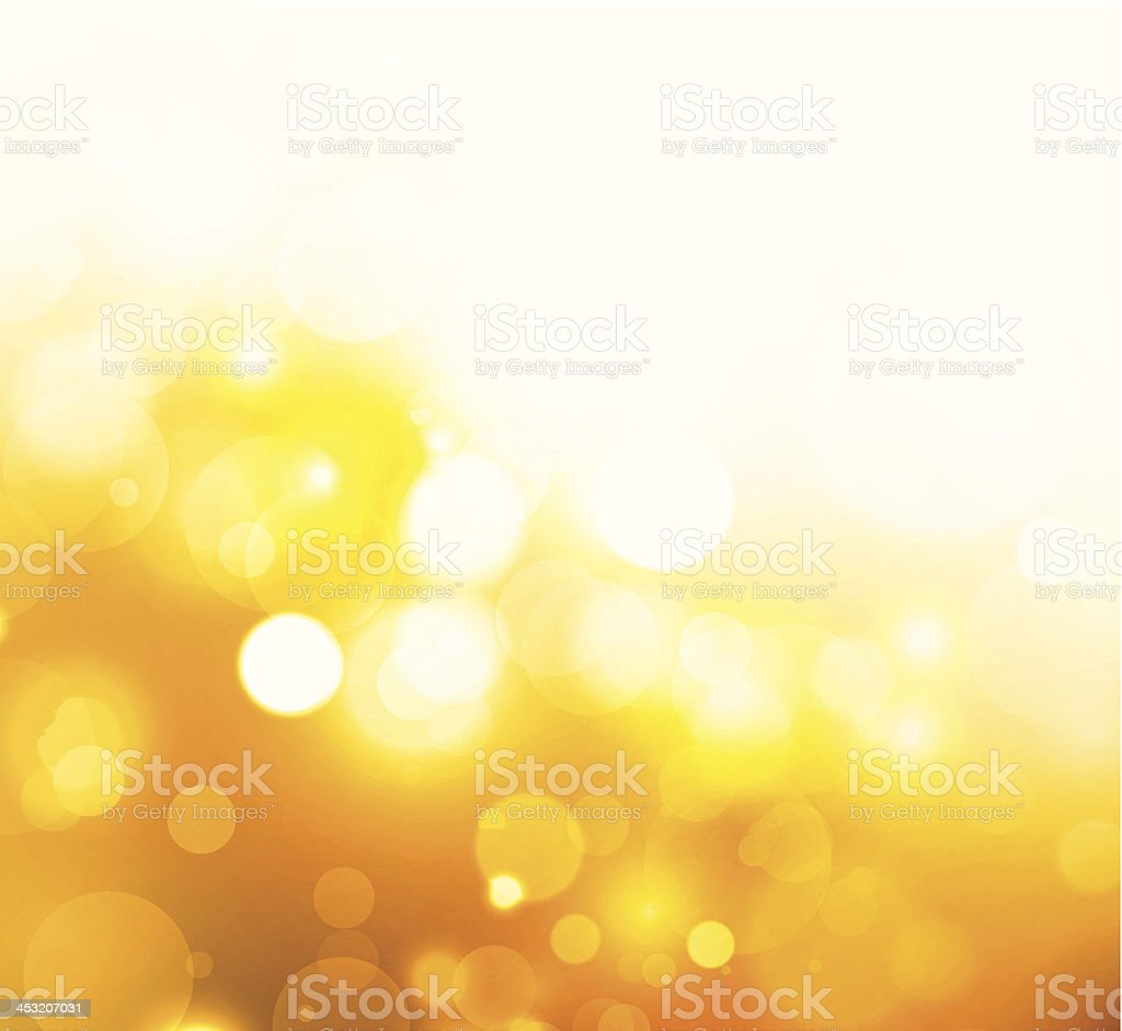 Abstract shiny circles vector art illustration