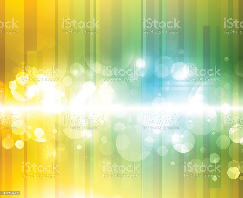Abstract shiny circles royalty-free stock vector art