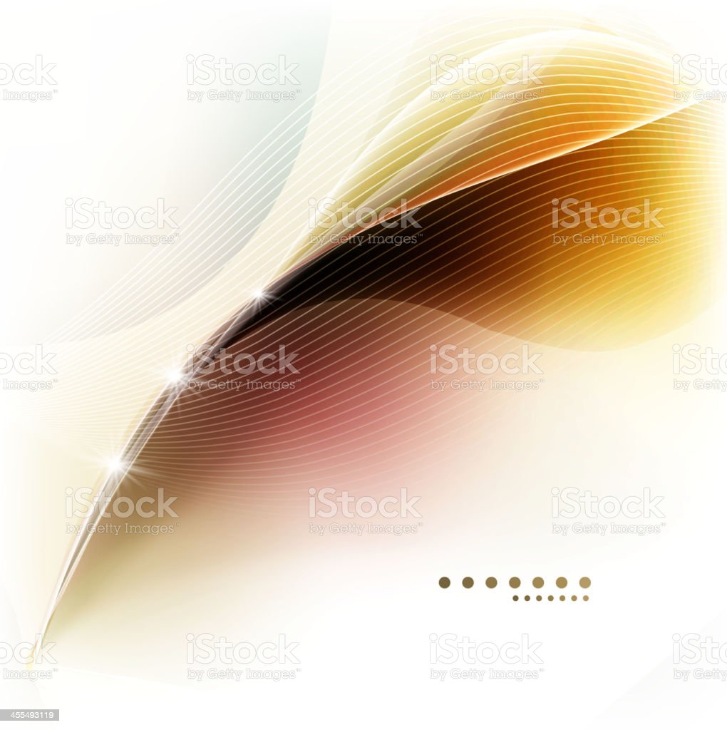 Abstract shiny multicolored waves background royalty-free stock vector art