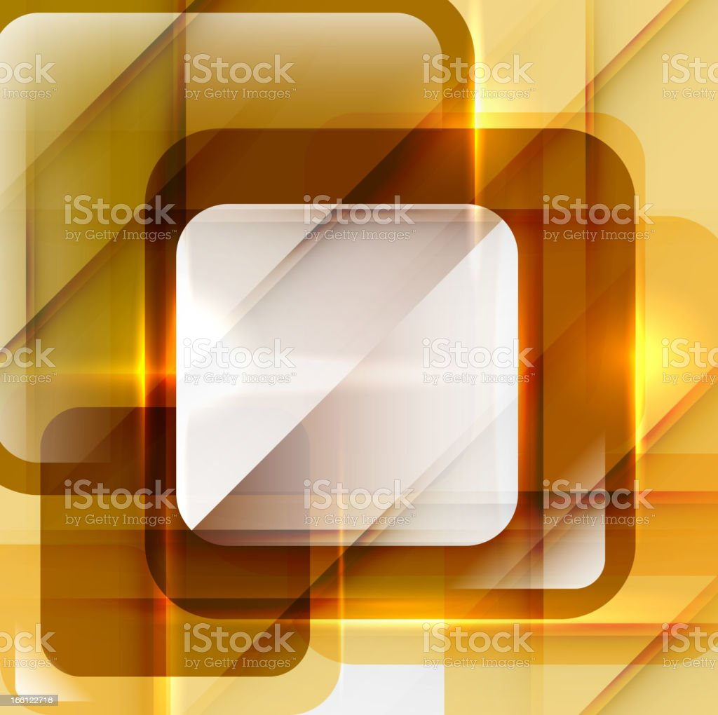 Abstract shiny yellow background royalty-free stock vector art