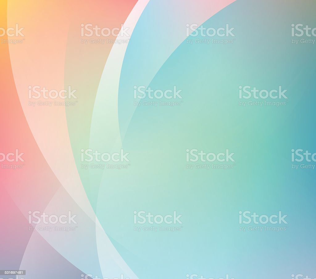Abstract Smooth Color Gradient Stock Vector Background vector art illustration