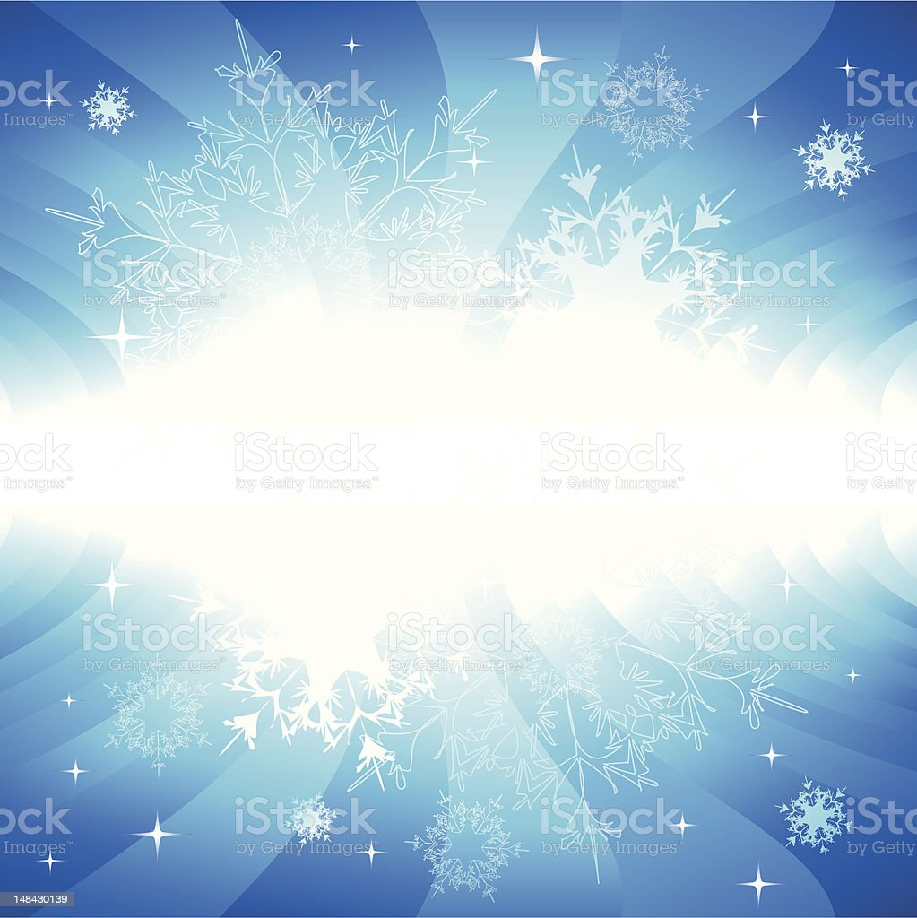 Abstract snow background royalty-free stock vector art