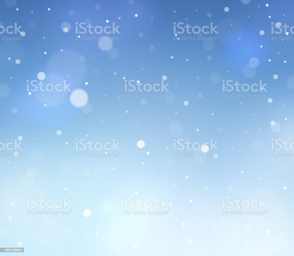 Abstract snow theme background 3 vector art illustration