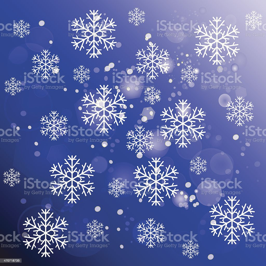 abstract snowflakes royalty-free stock vector art