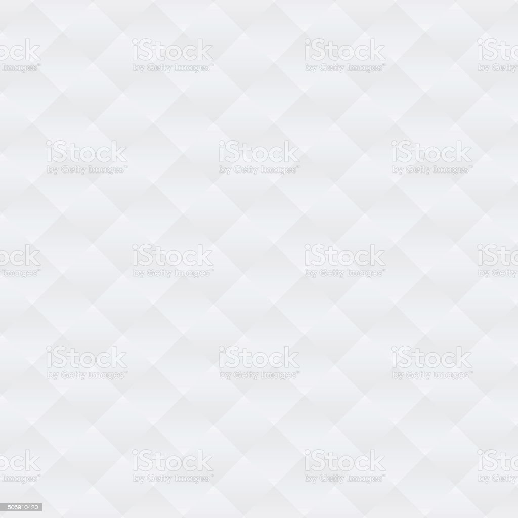 Abstract soft white argyle pattern background vector art illustration