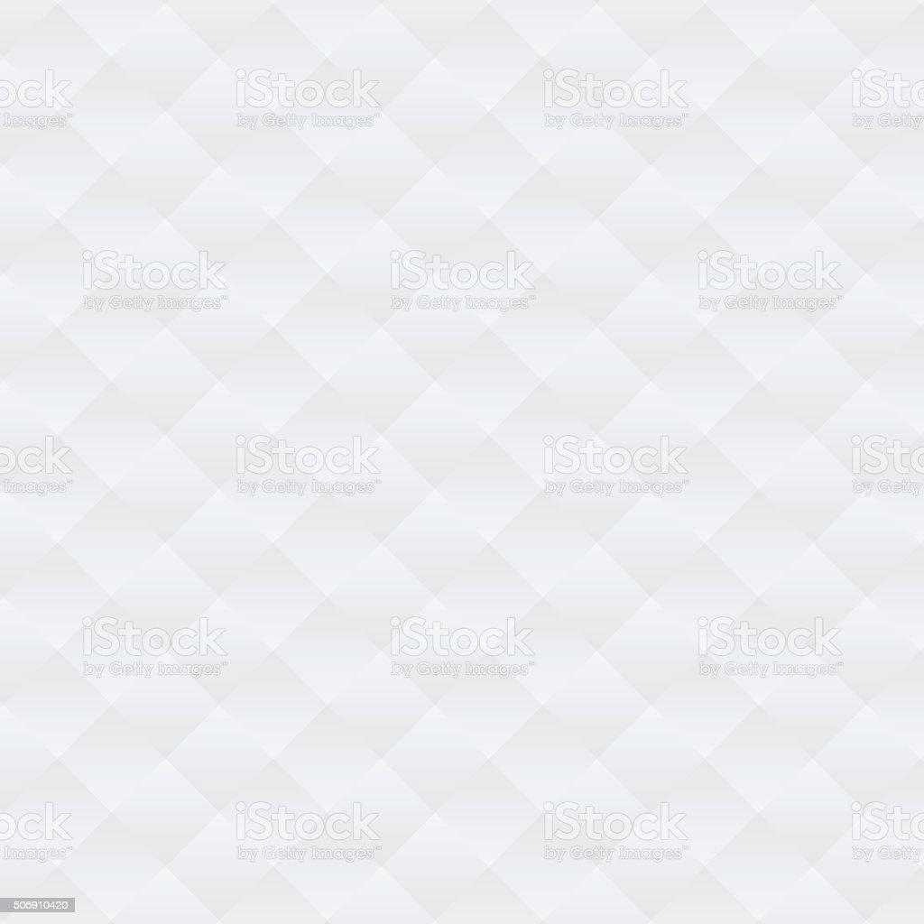 Abstract soft white argyle pattern background vector art illustration