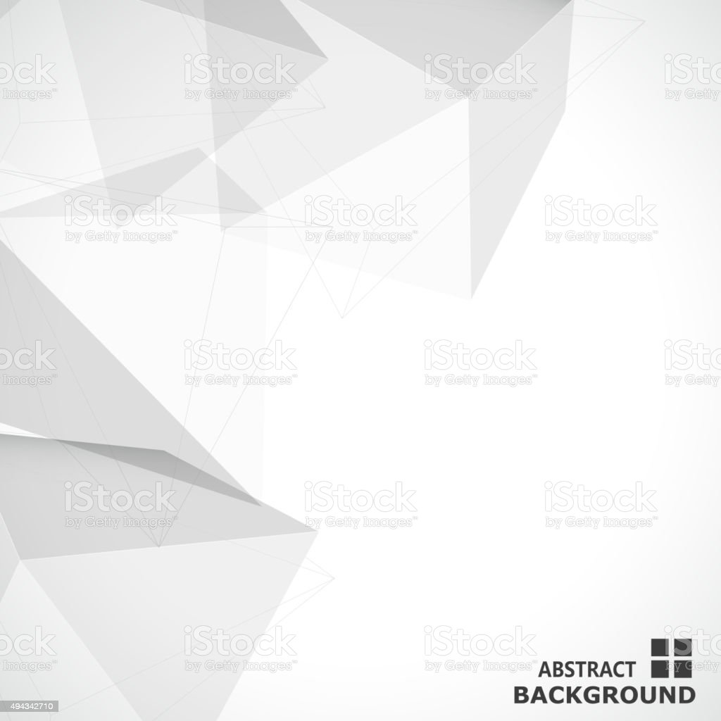 abstract solid geometry pattern background for design vector art illustration