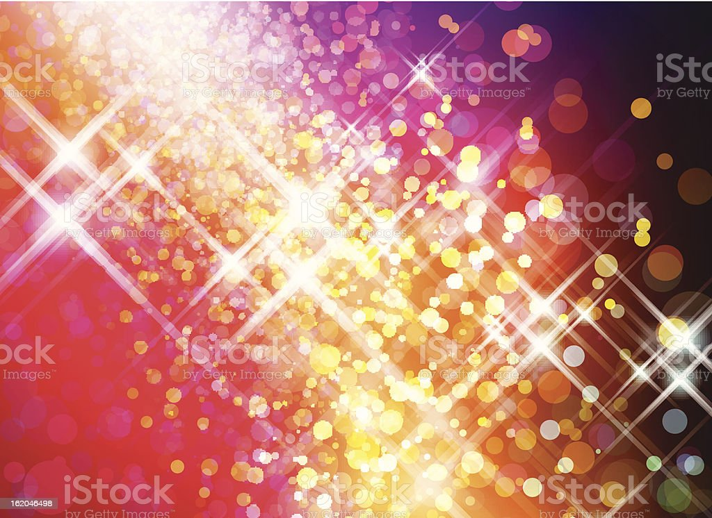 Abstract Sparkly Background royalty-free stock vector art