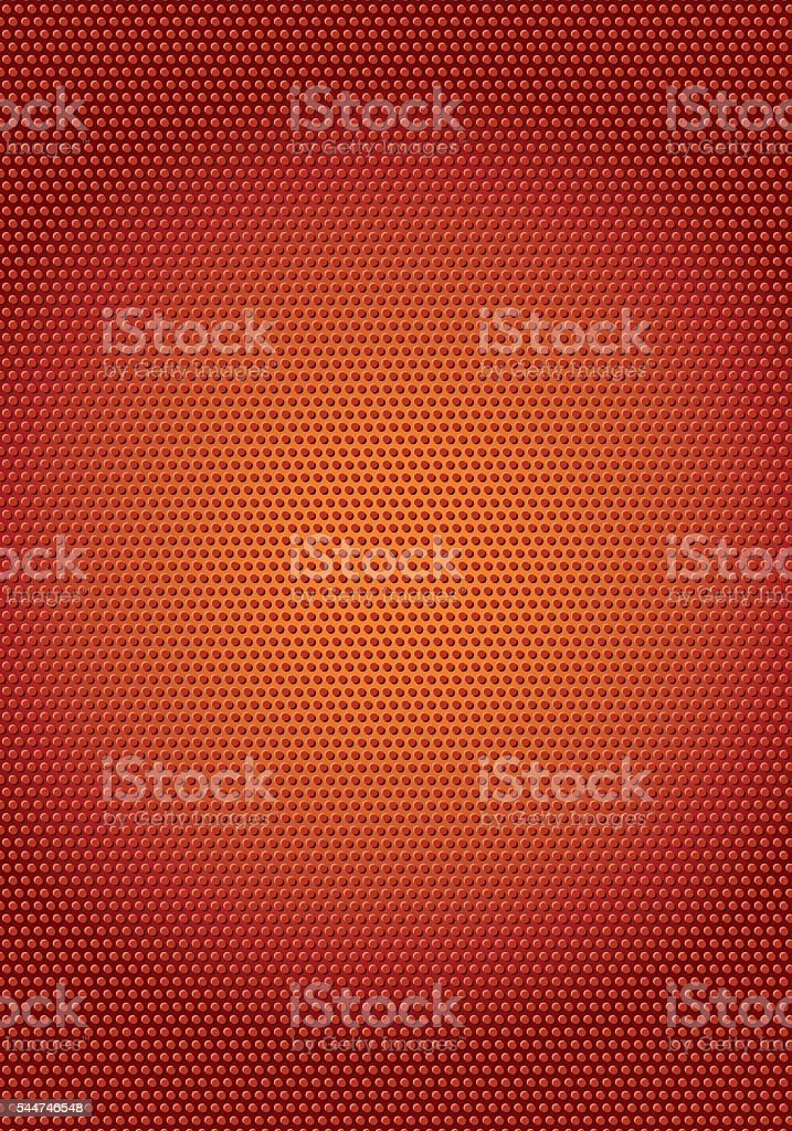 Abstract sports background with basketball texture vector art illustration