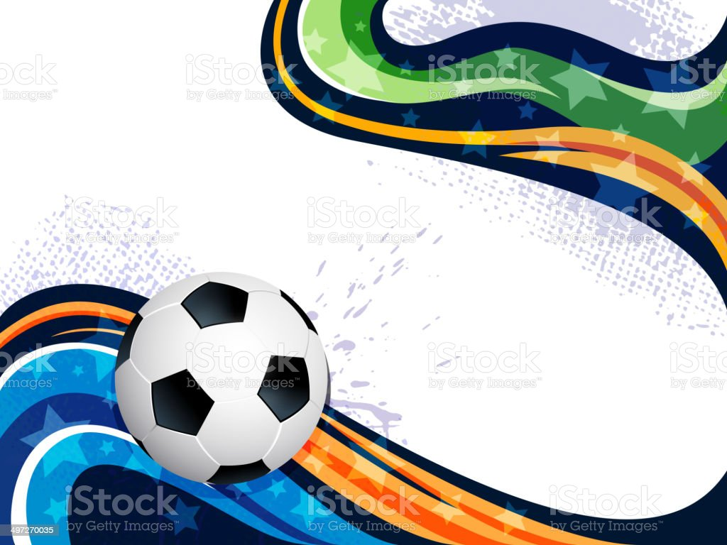 Abstract Sports Background with Copy space royalty-free stock vector art