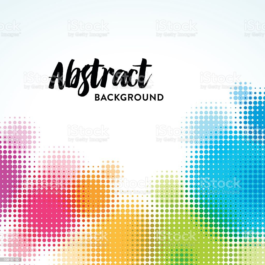 Abstract Spotted Background vector art illustration