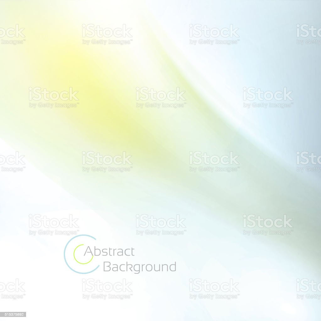 Abstract spring background vector art illustration