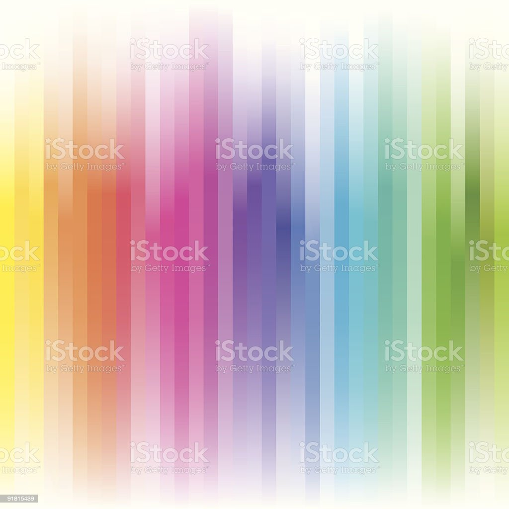Abstract streaks of colors that represent the color spectrum royalty-free stock vector art