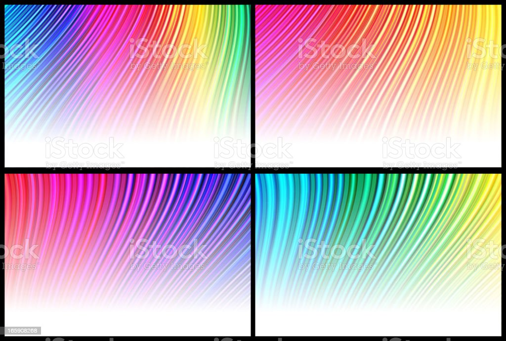 abstract strobe lights Background vector art illustration