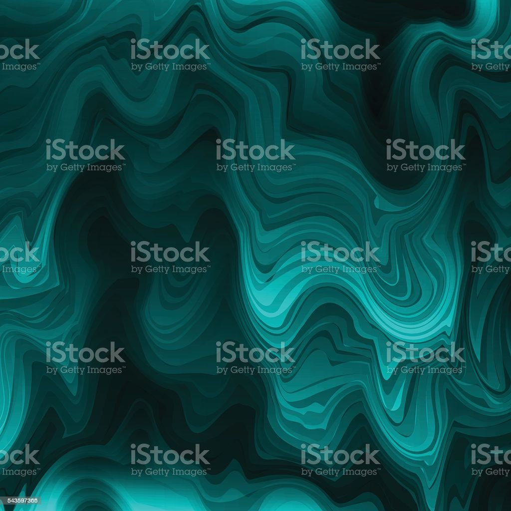 Abstract stylized texture malachite vector art illustration