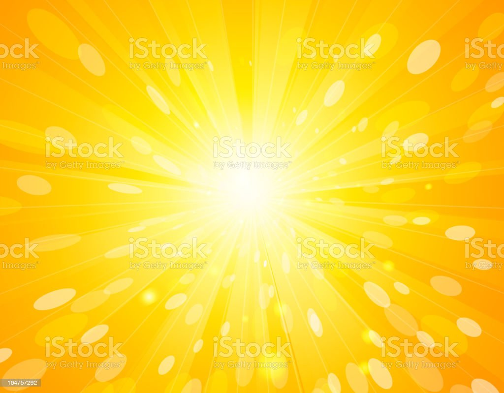 Abstract sun background royalty-free stock vector art