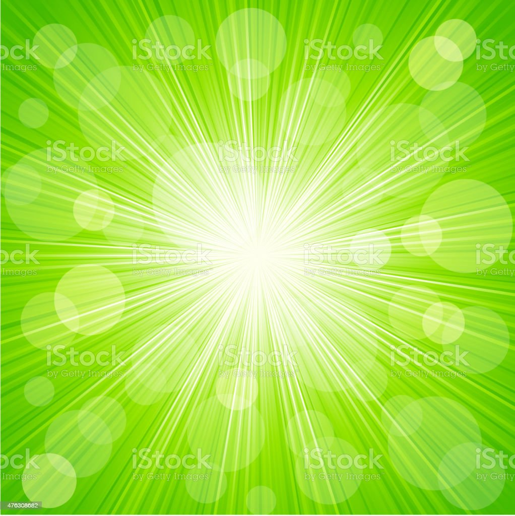 Abstract sunburst light background vector art illustration