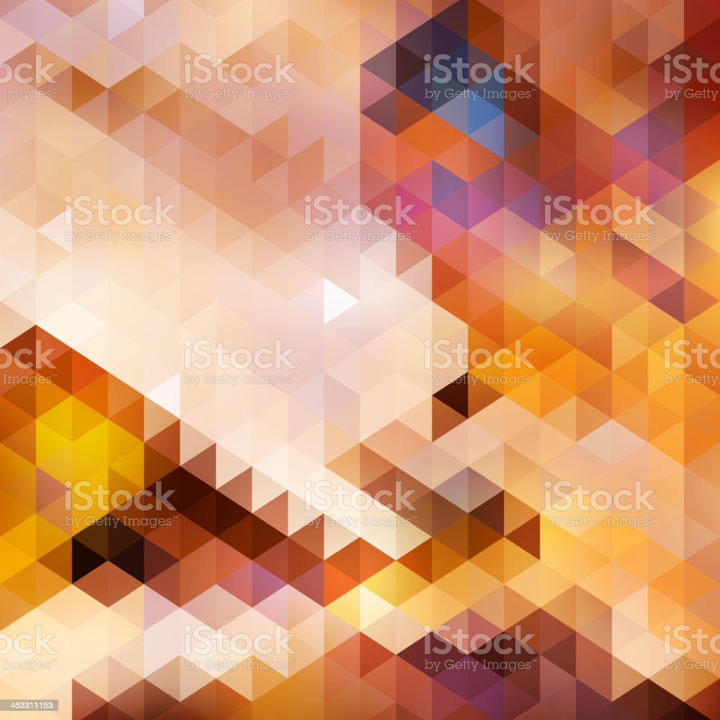 Abstract sunset autumn background card. royalty-free stock vector art