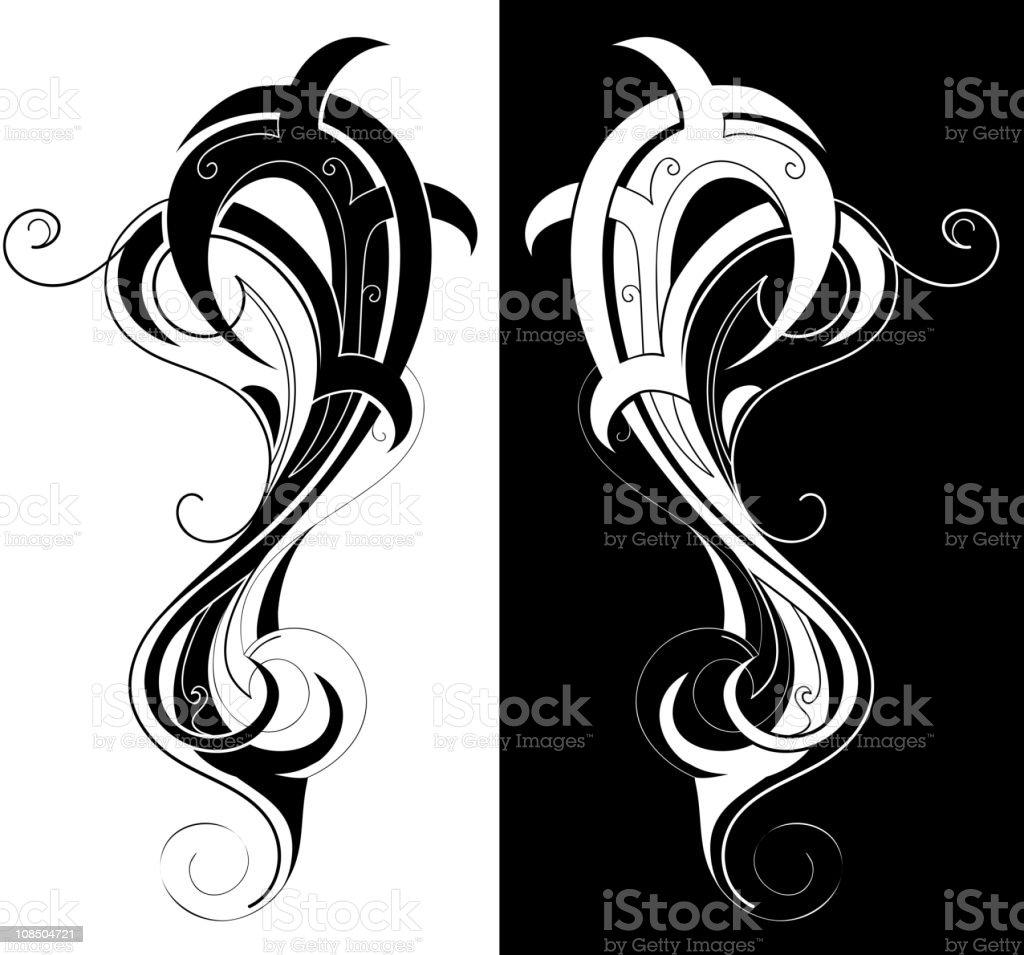 Abstract swirls royalty-free stock vector art