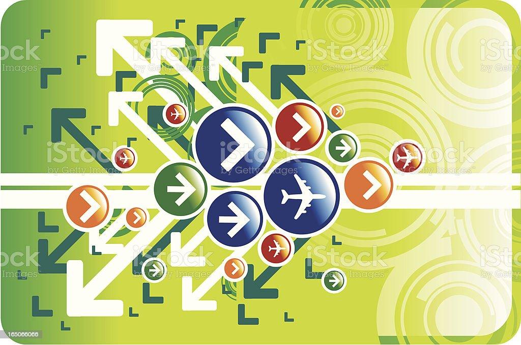 Abstract Symbol design royalty-free stock vector art