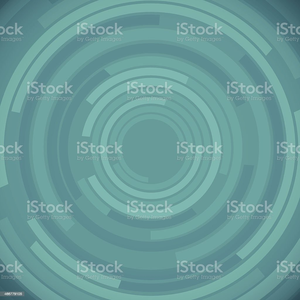 Abstract Teal Background vector art illustration
