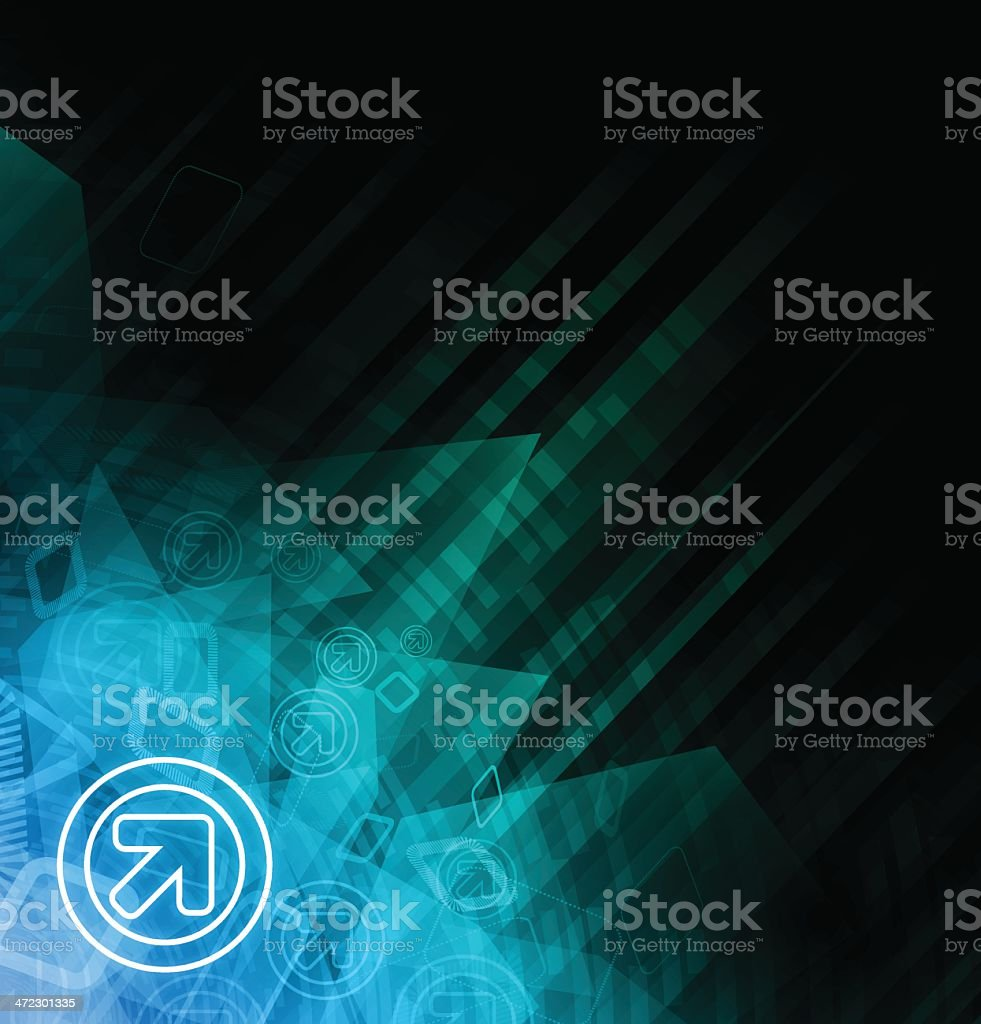 Abstract Technical Background royalty-free stock vector art
