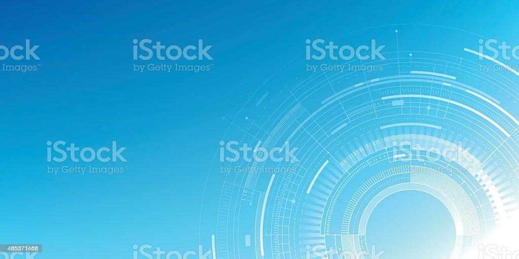 Abstract Technology Background vector art illustration