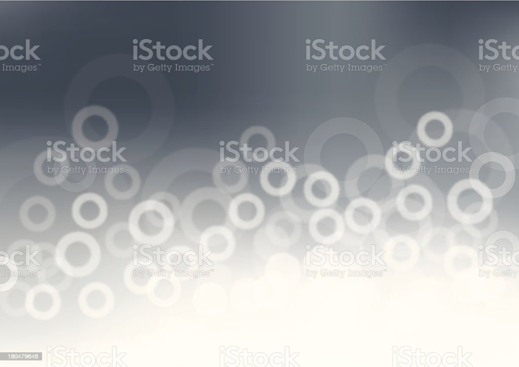 Abstract technology background with circles royalty-free stock vector art