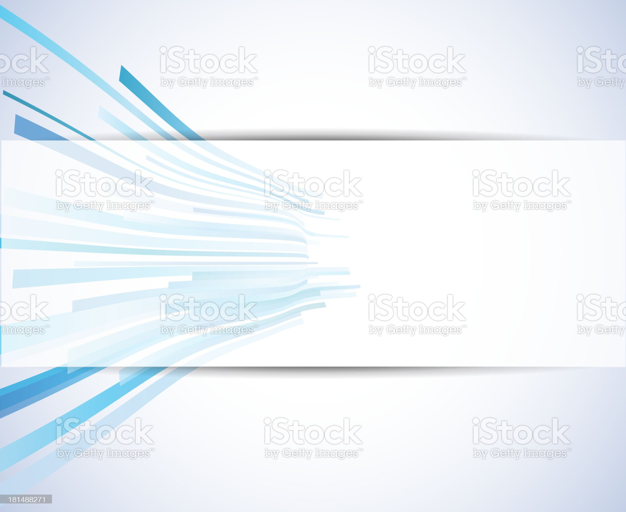 abstract technology background with white banner royalty-free stock vector art