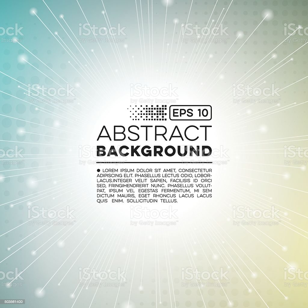 Abstract Technology Burst Background vector art illustration