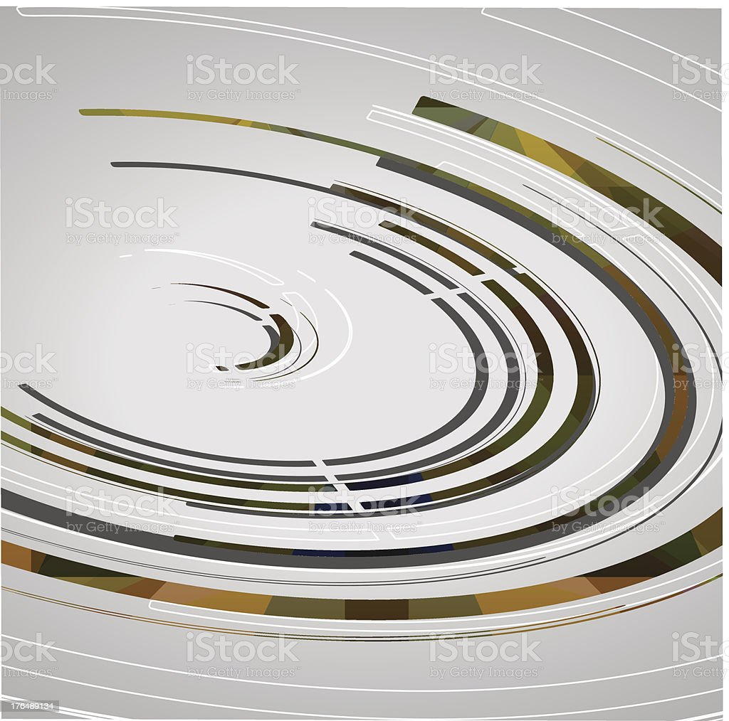 Abstract technology circles background royalty-free stock vector art