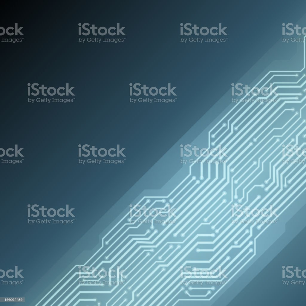 Abstract technology microchip vector background royalty-free stock vector art