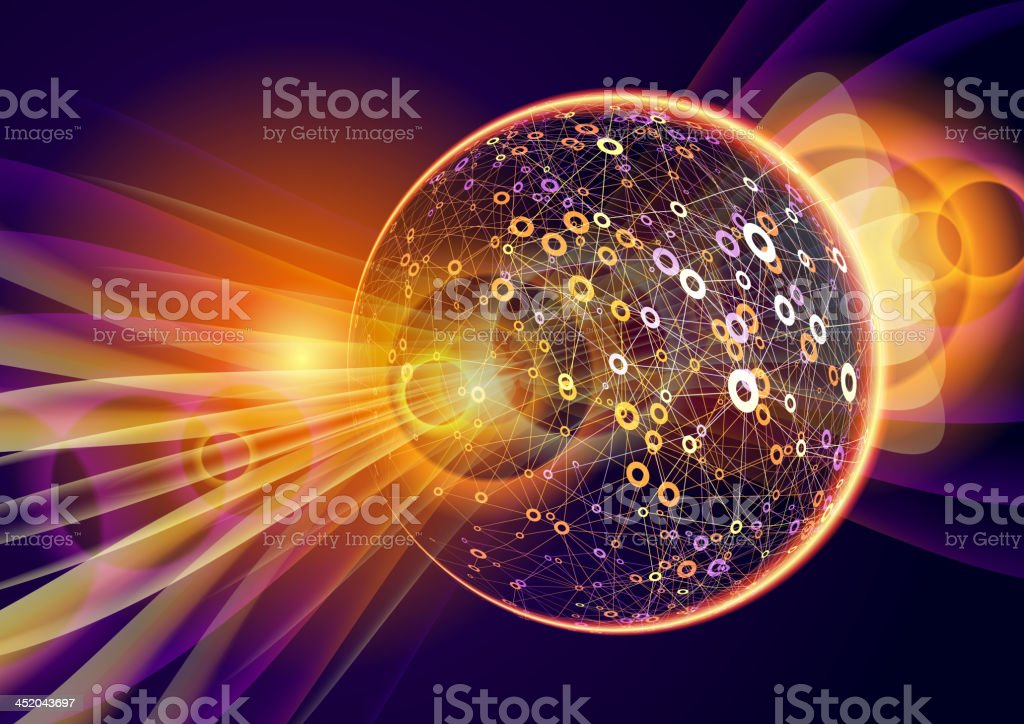 Abstract Technology royalty-free stock vector art