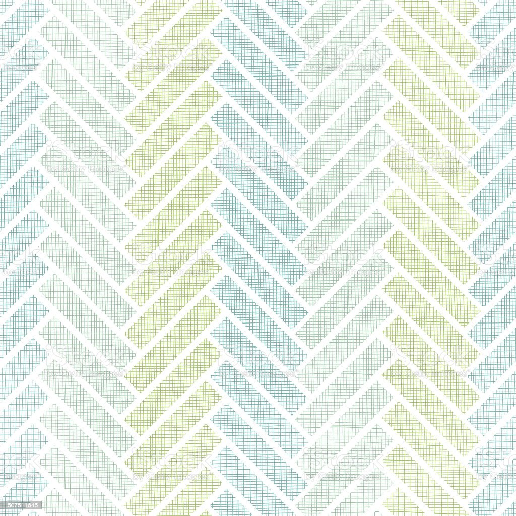 Abstract textile stripes parquet seamless pattern background vector art illustration