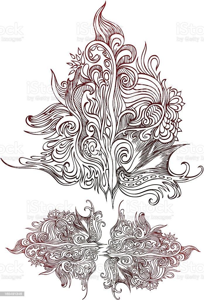 abstrakte Struktur Lizenzfreies vektor illustration