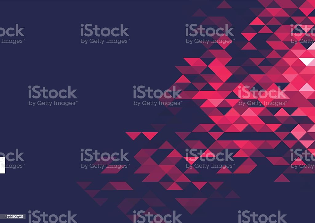 Abstract triangle background royalty-free stock vector art
