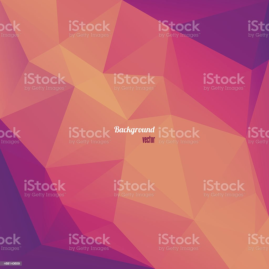 Abstract Triangle Geometrical  Background royalty-free stock vector art