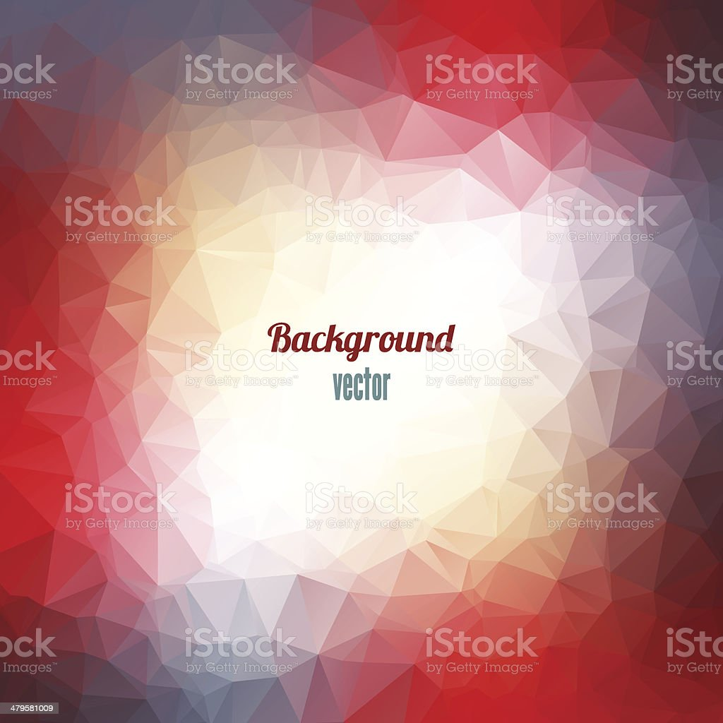 Abstract Triangle Geometrical Background. royalty-free stock vector art