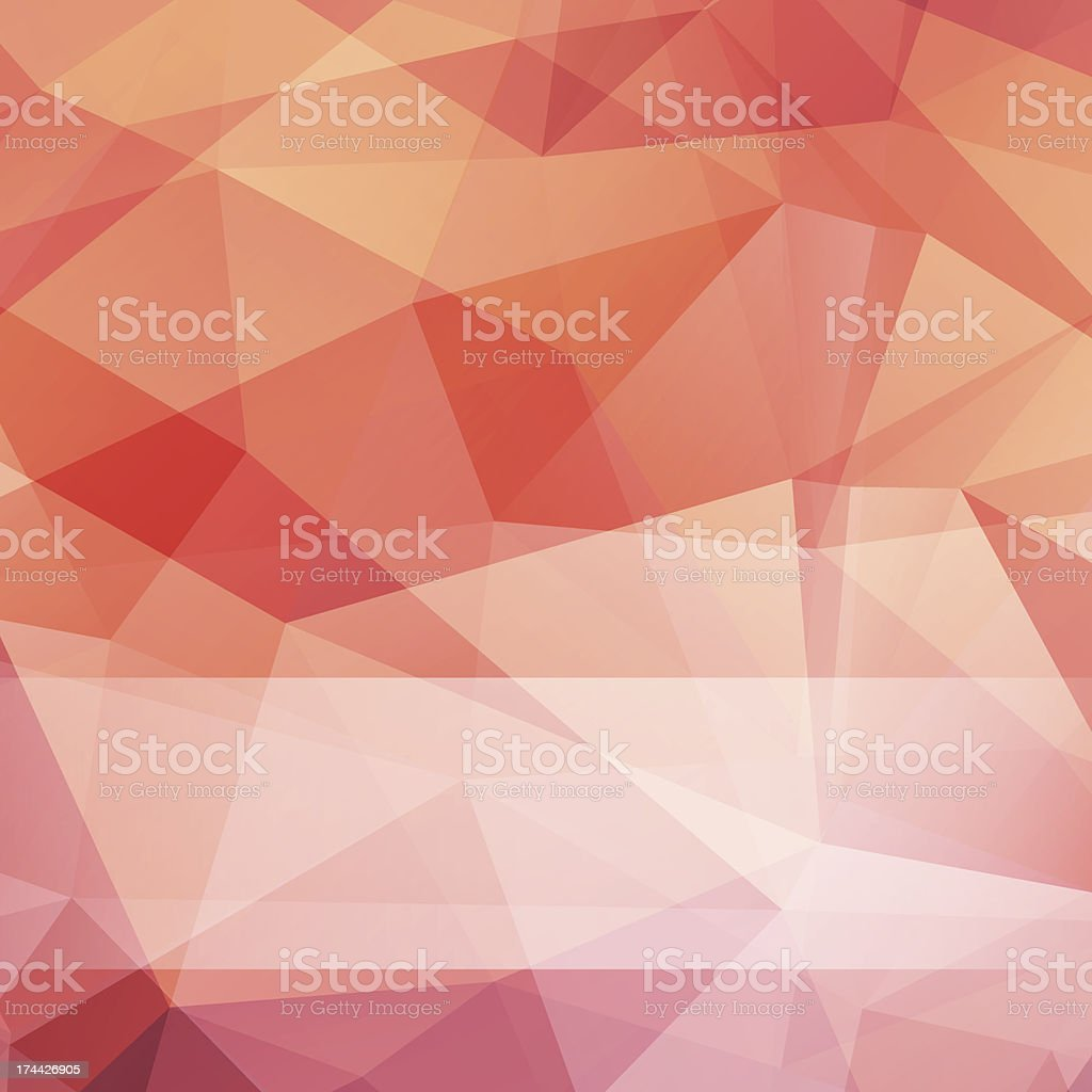 Triângulo abstrato de fundo vector malha vetor e ilustração royalty-free royalty-free