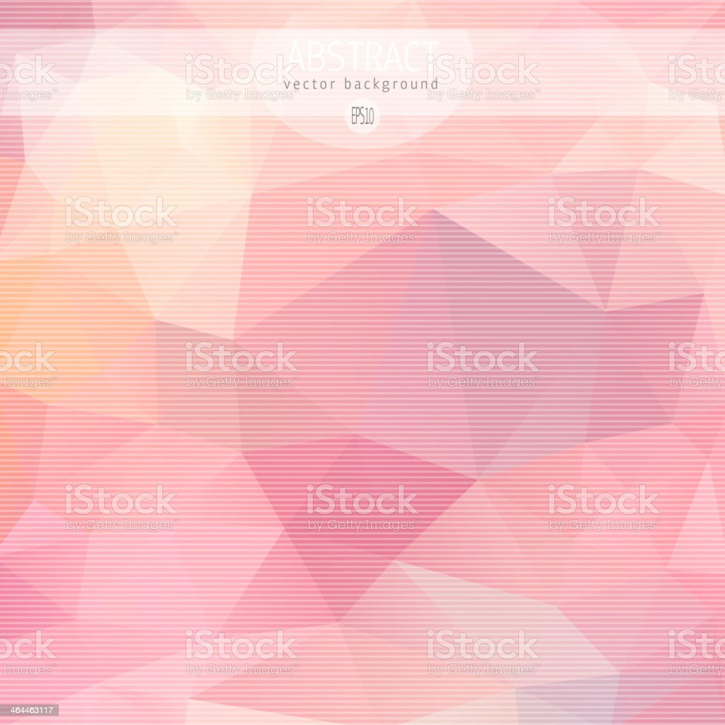 Abstract triangle pattern royalty-free stock vector art